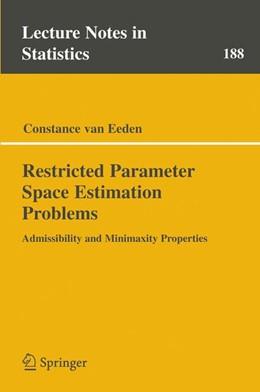 Abbildung von van Eeden   Restricted Parameter Space Estimation Problems   2006   Admissibility and Minimaxity P...   188