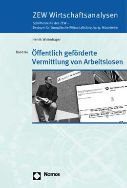Abbildung von Winterhager | Öffentlich geförderte Vermittlung von Arbeitslosen | 2008 | 84