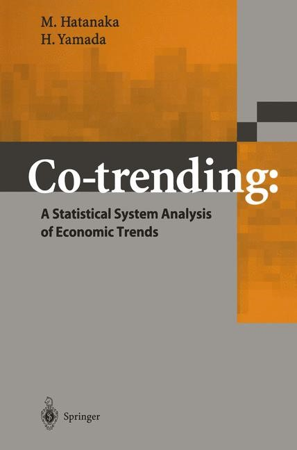 Abbildung von Hatanaka / Yamada | Co-trending: A Statistical System Analysis of Economic Trends | 2003