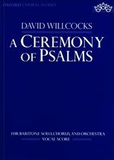 A Ceremony of Psalms | Willcocks, 1993 (Cover)