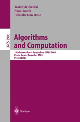 Abbildung von Ibaraki / Katoh / Ono | Algorithms and Computation | 2003 | 14th International Symposium, ... | 2906