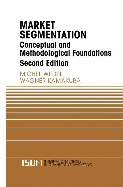 Abbildung von Wedel / Kamakura | Market Segmentation | 2nd ed. | 1999