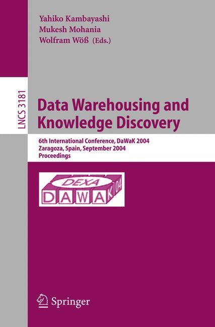 Data Warehousing and Knowledge Discovery | Kambayashi / Mohania / Wöß, 2004 | Buch (Cover)