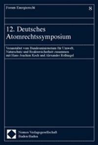 12. Deutsches Atomrechtssymposium, 2004   Buch (Cover)