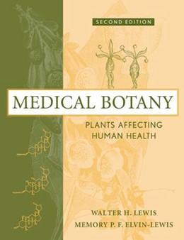 Abbildung von Lewis / Elvin-Lewis | Medical Botany | 2. Auflage | 2003 | Plants Affecting Human Health