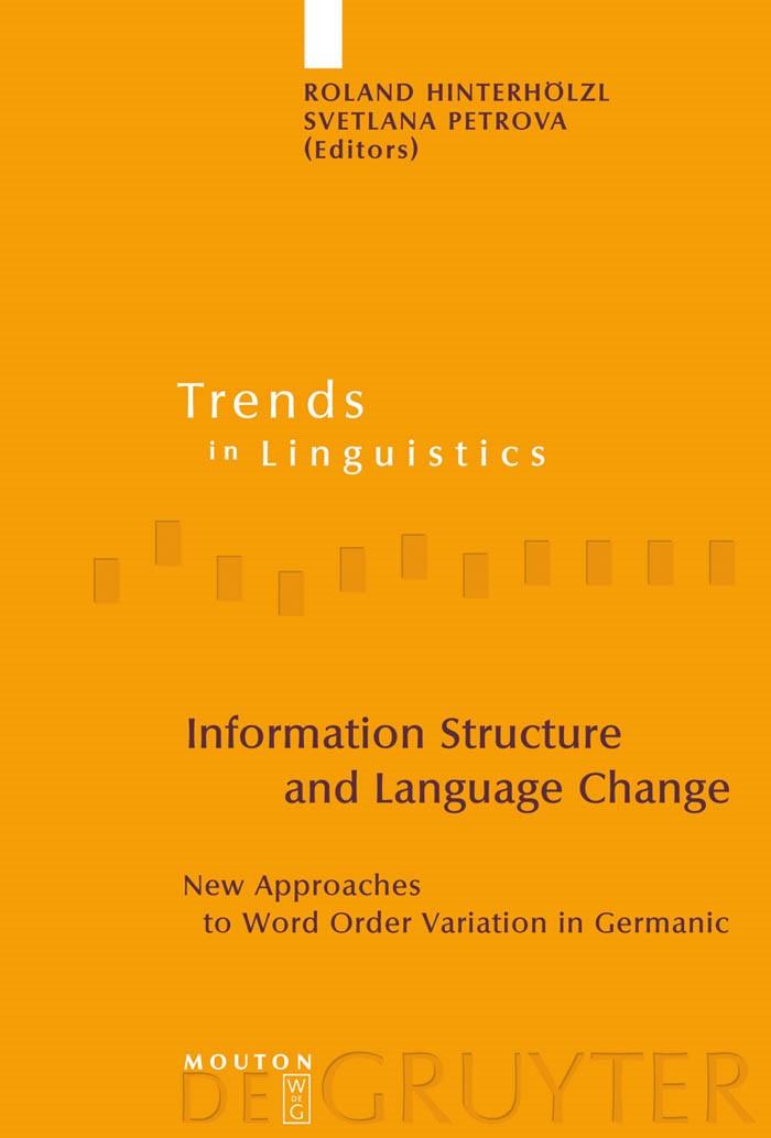 Abbildung von Hinterhölzl / Petrova | Information Structure and Language Change | 2009