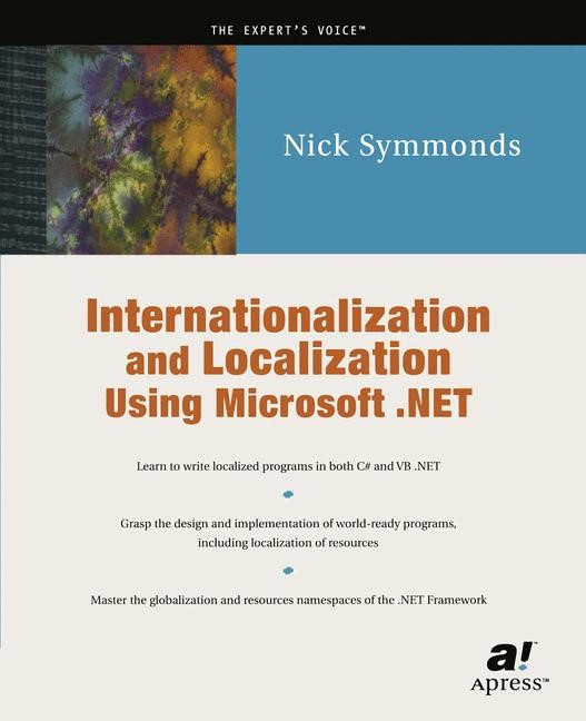 Abbildung von Symmonds | Internationalization and Localization Using Microsoft .NET | Softcover reprint of the original 1st ed. | 2002