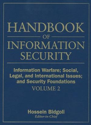 Abbildung von Bidgoli   Handbook of Information Security   2006