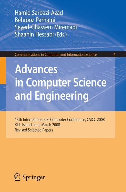 Abbildung von Sarbazi-Azad / Parhami / Miremadi / Hessabi | Advances in Computer Science and Engineering | 2008