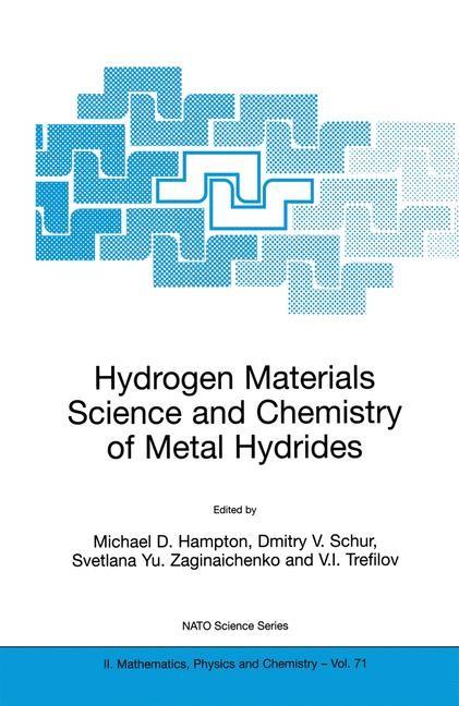 Abbildung von Hampton / Schur / Zaginaichenko / Trefilov   Hydrogen Materials Science and Chemistry of Metal Hydrides   2002