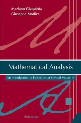 Abbildung von Giaquinta / Modica | Mathematical Analysis | 2009 | An Introduction to Functions o...