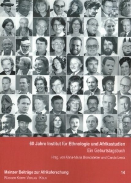 60 Jahre Institut für Ethnologie und Afrikastudien | Brandstetter / Lentz, 2006 (Cover)