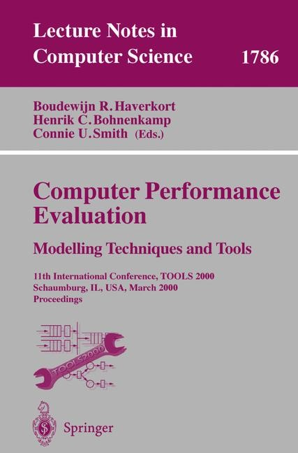 Abbildung von Haverkort / Bohnenkamp / Smith | Computer Performance Evaluation. Modelling Techniques and Tools | 2000