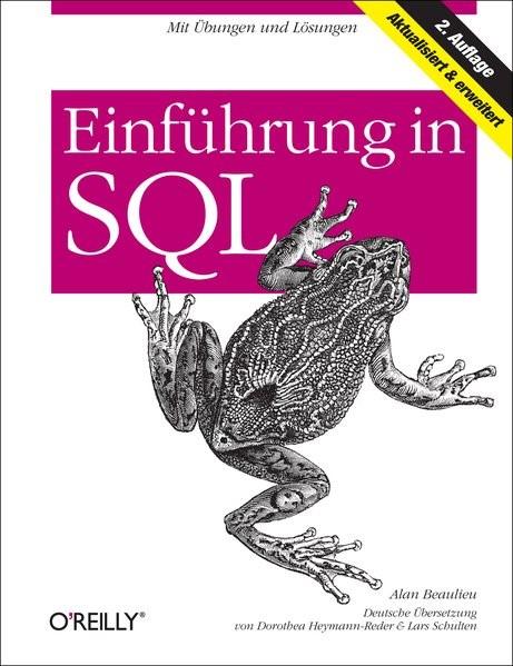 Abbildung von Alan Beaulieu   Einführung in SQL   2009