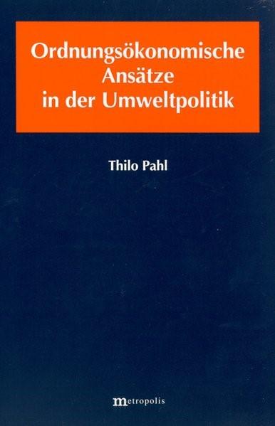 Abbildung von Phal   Ordnungsökonomische Ansätze in der Umweltpolitik   2001