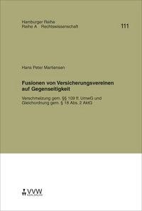 Abbildung von Weber / Winter / Plöger   Fusionen von Versicherungsvereinen auf Gegenseitigkeit   2006