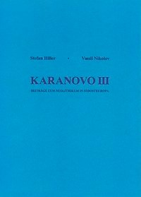 Abbildung von Hiller / Nikolov   Karanovo Band III   2000