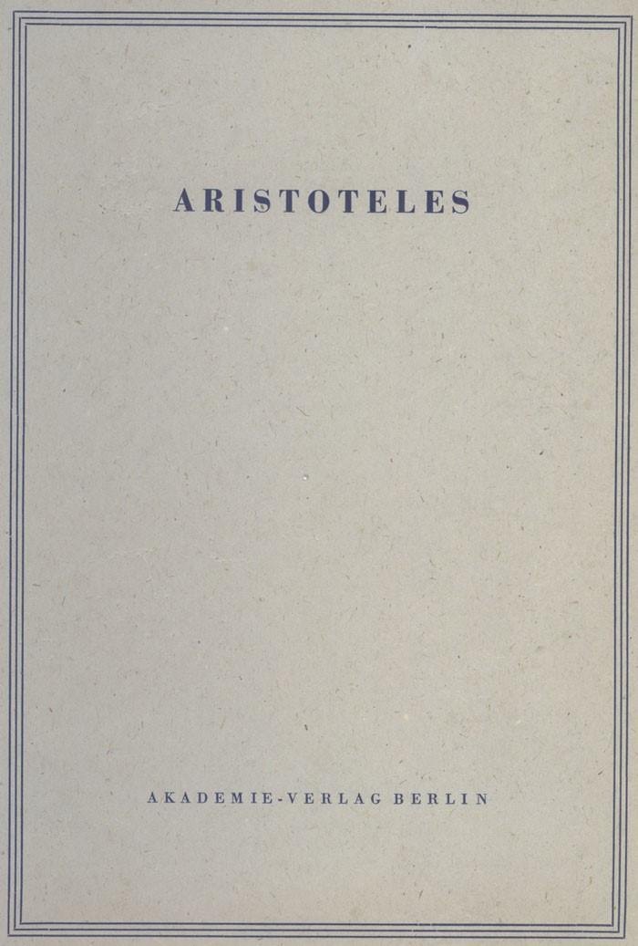 Abbildung von Opuscula I | 3., gegenüber der 2. bearb., durchges. Aufl. | 1986