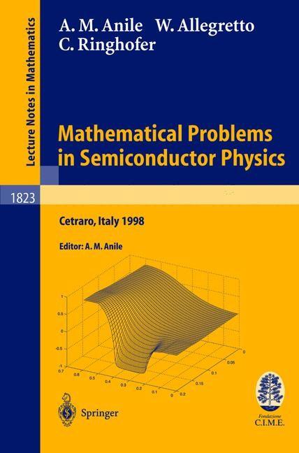 Abbildung von Anile / Allegretto | Mathematical Problems in Semiconductor Physics | 2003