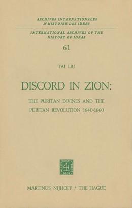 Abbildung von Tai Liu | Discord in Zion | 1973 | The Puritan Divines and the Pu... | 61
