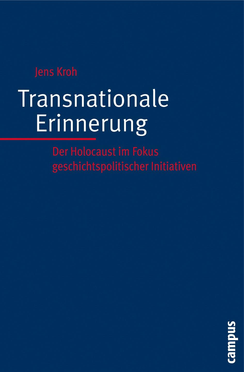 Abbildung von Kroh   Transnationale Erinnerung   2008