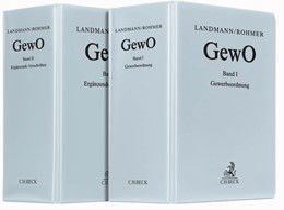 Abbildung von Landmann / Rohmer | Gewerbeordnung und ergänzende Vorschriften: GewO | 81. Auflage | 2019 | Band I: Gewerbeordnung - Komme...