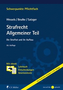 Abbildung von Wessels / Beulke | Strafrecht Allgemeiner Teil | 50. Auflage | 2020 | beck-shop.de