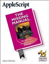 Abbildung von Adam Goldstein | AppleScript: The Missing Manual | 2005