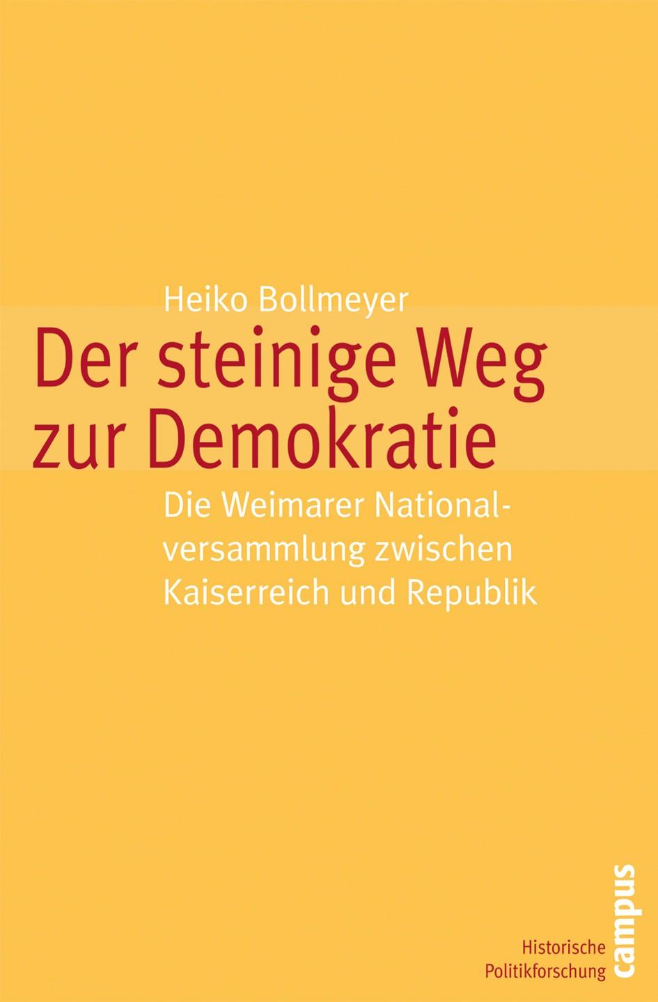 Abbildung von Bollmeyer | Der steinige Weg zur Demokratie | 2007