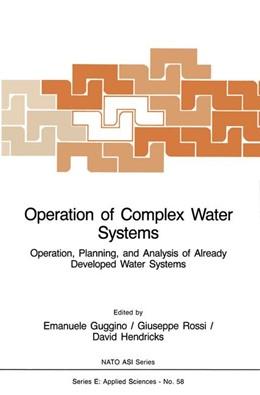 Abbildung von Guggino / Rossi / Hendricks | Operation of Complex Water Systems | 1983 | Operation, Planning and Analys... | 58