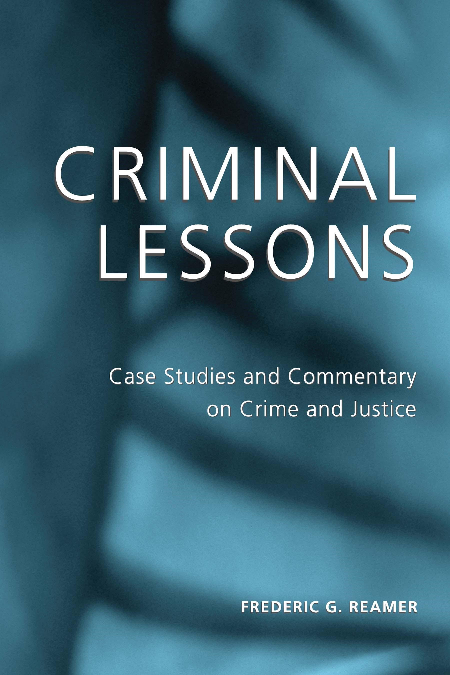 Abbildung von Reamer | Criminal Lessons | 2003