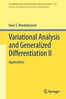 Abbildung von Mordukhovich | Variational Analysis and Generalized Differentiation II | 1st ed. 2006, Corr. 3rd printing 2012 | 2012 | Applications | 331