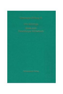 Abbildung von Böhtlingk / Brückner / Zeller | Otto Böhtlingk an Rudolf Roth | 2008 | Briefe zum Petersburger Wörter... | 46