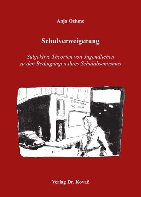 Schulverweigerung | Oehme, 2007 | Buch (Cover)