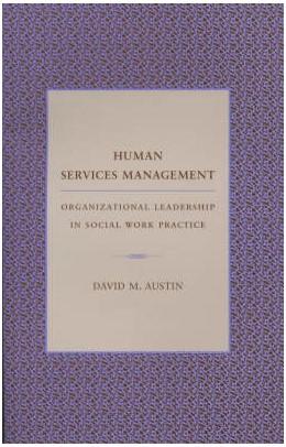 Abbildung von Austin | Human Services Management | 2002 | Organizational Leadership in S...