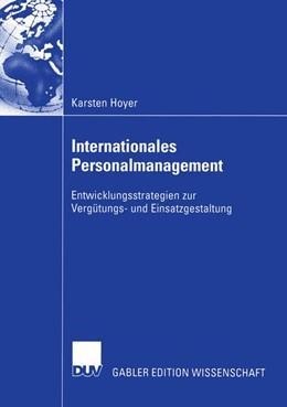 Abbildung von Hoyer | Internationales Personalmanagement | 2005 | Entwicklungsstrategien zur Ver...