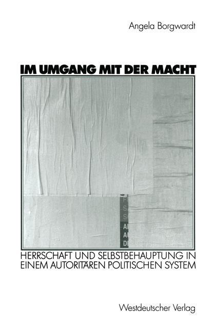 Im Umgang mit der Macht   Borgwardt   2002, 2003   Buch (Cover)