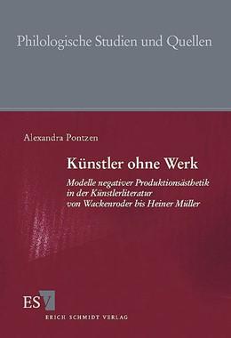 Abbildung von Pontzen   Künstler ohne Werk   2000   Modelle negativer Produktionsä...   164