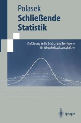 Abbildung von Polasek | Schließende Statistik | 1. Auflage | 1996 | beck-shop.de