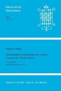 Abbildung von Bollée | Dictionnaire étymologique des créoles français de l`Océan Indien | 2007