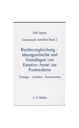 Abbildung von Jayme | Rechtsvergleichung - Ideengeschichte und Grundlagen von Emerico Amari zur Postmoderne | 2000 | Vorträge, Aufsätze , Rezension... | 90