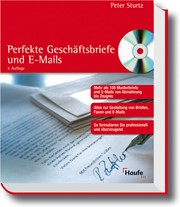 Perfekte Geschäftsbriefe Und E Mails 3 Auflage 2006 Buch