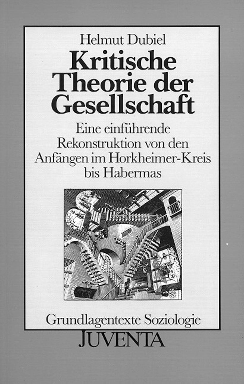 Kritische Theorie der Gesellschaft | Dubiel, 1992 | Buch (Cover)