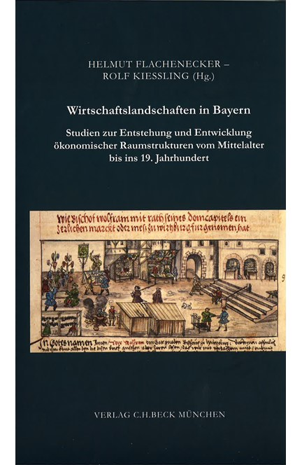 Cover: , Wirtschaftslandschaften in Bayern