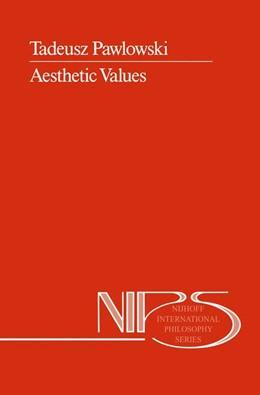 Abbildung von Pawlowski   Aesthetic Values   1989   31