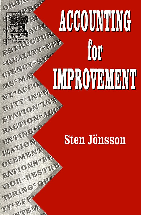 Accounting for Improvement | Jönsson, 2005 (Cover)