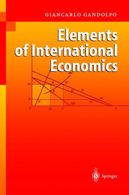 Elements of International Economics | Gandolfo, 2004 | Buch (Cover)