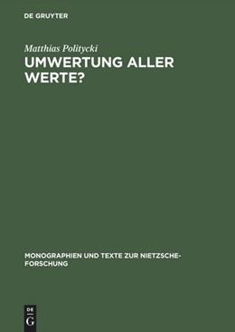 Abbildung von Politycki | Umwertung aller Werte? | Reprint 2018 | 1989 | Deutsche Literatur im Urteil N... | 21