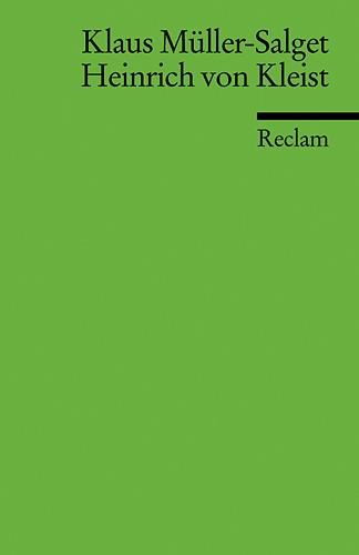 Heinrich von Kleist | Müller-Salget, 2002 | Buch (Cover)