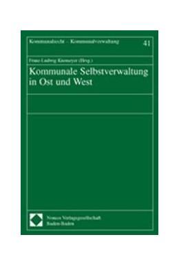 Abbildung von Knemeyer   Kommunale Selbstverwaltung in Ost und West   2003   41